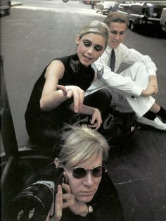 "Andy Warhol and Edie Sedgwick, photo: Burt Glinn. ""Edie"" a bio to read, if you have not."