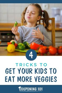 Working vegetables into your child's diet doesn't need to be a constant battle. These simple tricks may help convince vegetable-averse children to not only eat their veggies but actually enjoy them. Couponing 101, Cooking Tips, Saving Money, Coupons, Battle, Diet, Vegetables, Children, Simple