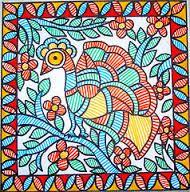 Madhubani Art, Madhubani Painting, Coasters, Sketches, Embroidery, Cards, Image, Cushion, Paintings
