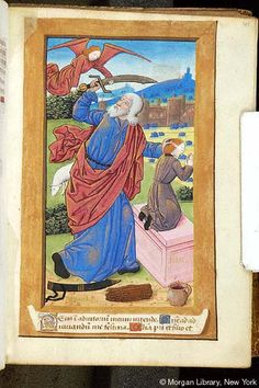 Book of Hours, MS H.1 fol. 41r - Images from Medieval and Renaissance Manuscripts - The Morgan Library & Museum