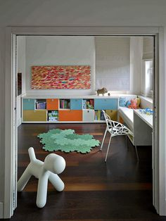 A great modern, clean playroom design, Budapest Private Villa by Suto Interior Architects