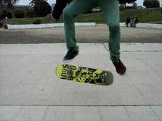 Kickflip ow yeah!