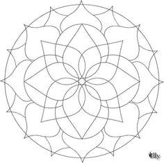 Mandala Coloring Pages, Coloring Page Mandala 694x693px #2380 ...