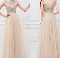 A-Line New Arrival Long Beading Real Made Christmas Dresses,Long Party Dresses,Prom Dresses on Luulla Elegant Outfit, Elegant Dresses, Pretty Dresses, Beautiful Dresses, Bridesmaid Dresses, Prom Dresses, Formal Dresses, Farewell Dresses, Chiffon Dress Long