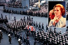 Britain stages grand funeral for Margaret Thatcher.