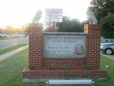 Booker T. Washington High School. SHREVEPORT