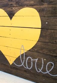 Reclaimed wood love sign by pbjstories on etsy funky junk re