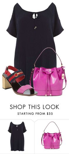 """""""Untitled #17271"""" by nanette-253 ❤ liked on Polyvore featuring Dorothy Perkins, Ralph Lauren and Gucci"""