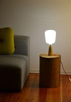 Afillia table lamp designed by Alessandro Zambelli for .exnovo