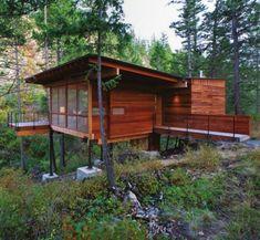 Modern Cabin on Flathead Lake