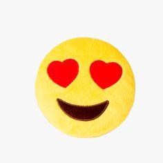 Heart Eye Emoji Dog Toy