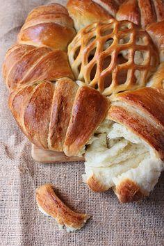 Вита пита с розетка / Rosette Round Loaf Bread
