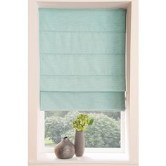 Kendal Thermal Roman Blind (130 RON) ❤ liked on Polyvore featuring home, home decor, window treatments, window blinds, thermal window coverings, grey window blinds, grey window shades, gray blinds and gray window treatments