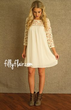 Stand Out in Ivory - Filly Flair
