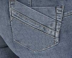 Back Pocket Style 517 : Custom Tailor Made Jeans For Men and Women ...