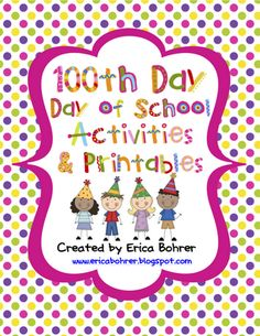 100th Day Activities Pinned by @PediaStaff – Please Visit http://ht.ly/63sNt for all our pediatric therapy pins