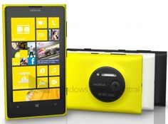 Press-photo of Nokia Lumia 1020 and more info