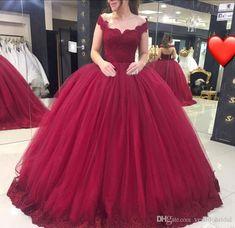 Vestidos color vino, vestidos de fiesta para niñas, vestidos graduacion, ve Sweet 16 Dresses, Sweet Dress, 15 Dresses, Ball Dresses, Bridal Dresses, Ball Gowns Prom, Prom Party Dresses, Dress Prom, Party Gowns