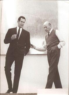 Un joven Ricardo Legorreta + Luis Barragán. Arquitectos Mexicanos