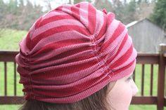 Bailey Jersey Cloche Hat by StitchasaurusRex on Etsy. $25.00, via Etsy.