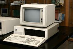 IBM PC-XT Model 5160. One of the first home computers we had.
