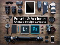 Fotografía para principiantes: Lightroom Preset & Photoshop Actions
