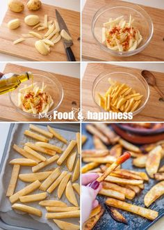 How to bake sweet potato fries / zucchini chips in the oven; Oven-baked vegetables How to bake sweet potato fries / zucchini chips in the oven; Healthy Recepies, Vegan Recipes, Cooking Recipes, Healthy Soups, Delicious Recipes, Fried Zucchini Chips, Baked Chips, Oven Baked Vegetables, Veggies