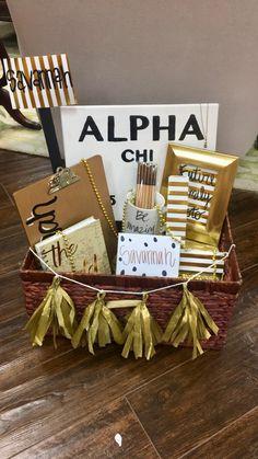 Alpha Chi Omega Big Little Gifts