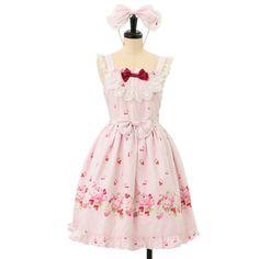 http://www.wunderwelt.jp/products/detail6974.html ☆ ·.. · ° ☆ ·.. · ° ☆ ·.. · ° ☆ ·.. · ° ☆ ·.. · ° ☆ Cherry Rose jumper skirt Katyusha set BABY THE STARS SHINE BRIGHT ☆ ·.. · ° ☆ How to order ↓ ☆ ·.. · ° ☆ http://www.wunderwelt.jp/user_data/shoppingguide-eng ☆ ·.. · ☆ Japanese Vintage Lolita clothing shop Wunderwelt ☆ ·.. · ☆ #egl