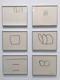 — Philip Guston - drawings photographed at Hauser & Wirth gallery, NYC, 2016