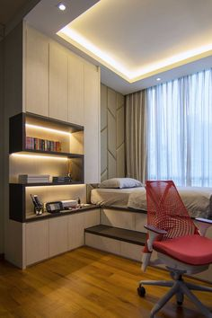 4 Astute Tips AND Tricks: Contemporary Apartment Bedside Tables contemporary bedroom cozy. Contemporary Apartment, Contemporary Bedroom, Modern Bedroom, Contemporary Cottage, Bedroom Romantic, Contemporary Building, Contemporary Wallpaper, Contemporary Chandelier, Contemporary Office