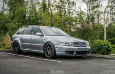 Beautiful Old School B5 Audi RS4 Avant | Audi