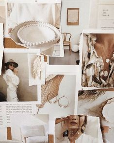 Inspo collage and moodboard Web Design, Layout Design, Site Design, Collage Design, Collage Art, Collages, Beige Aesthetic, Photocollage, Aesthetic Collage