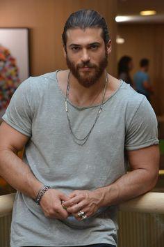 Handsome man and looks good =) Turkish Men, Turkish Actors, Turkish Beauty, Beautiful Men Faces, Gorgeous Men, Hairy Men, Bearded Men, Hot Hunks, Hot Actors