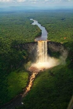 Kaieteur Falls, Guyana. Just imagine! Aaaaaah!