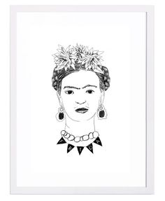 Dress Your Walls With Frida Kahlo // Frida by Dana Veraldi at Tappan Collective