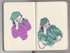 london sketchbook www.illuninare.de