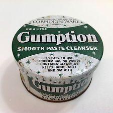 Vintage Gumption Tin 1lb Sydney Australia