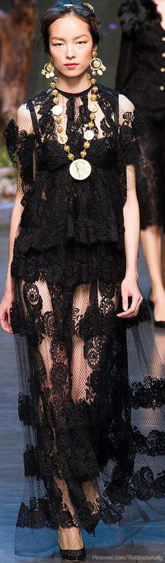 Dolce & Gabbana | S/S 2014 RTW♥✤ | KeepSmiling | BeStayBeautiful #fashion #runway #rtw