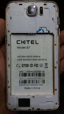 CKTEL S7 FLASH FILE MT6580 5 1 LCD FIX DEAD RECOVERY FIRMWARE 100