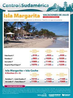 Isla Margarita, en Venezuela.  Si lo haces con Isla de Coche...experimentas un lugar paradisiaco!
