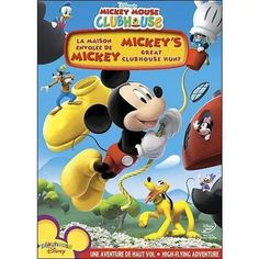 """""""Visit Walmart.ca for Mickey Mouse Clubhouse: Mickey's Great Clubhouse Hunt and our selection of Movies, Music & Books items at Walmart.ca """""""
