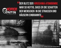 Atombombe Hiroshima Atombombe Hiroshima The post Atombombe Hiroshima & Interessantes appeared first on Film Germany . Real Horror, Creepy Horror, Hiroshima, Scary Facts, Fun Facts, Funny Cartoons, Funny Memes, Old Best Friends, Freedom Love