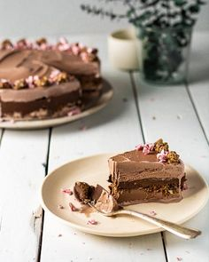 Chocolate Fudge Crunch Ice Cream Cake made with dark chocolate sunflower seed butter. This lower-sugar version is a great alternative for healthy desserts! Healthy Chocolate Desserts, Low Sugar Desserts, Delicious Chocolate, Chocolate Recipes, Chocolate Ice Cream, Chocolate Fudge, Pint Of Ice Cream, Crunch Cake, Seed Butter