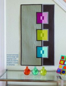 FREE PATTERN – In the Mirror from Modern Quilts Unlimited xxx