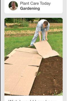 Kill grass using cardboard or newspaper. Keep grass covered about a month and keep cardboard or newspaper wet