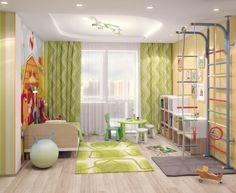 Детская комната мальчика - это огромный мир, который станет местом для реализации смелых мальчишеских фантазий!