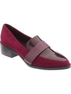 Old Navy Women's Block-Heel Loafers