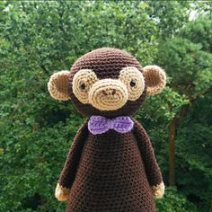 This is a pattern to make this lovely monkey!