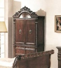 Yuan tai furniture 1804tv bailey tv armoire by yuan tai for Furniture 60 months no interest